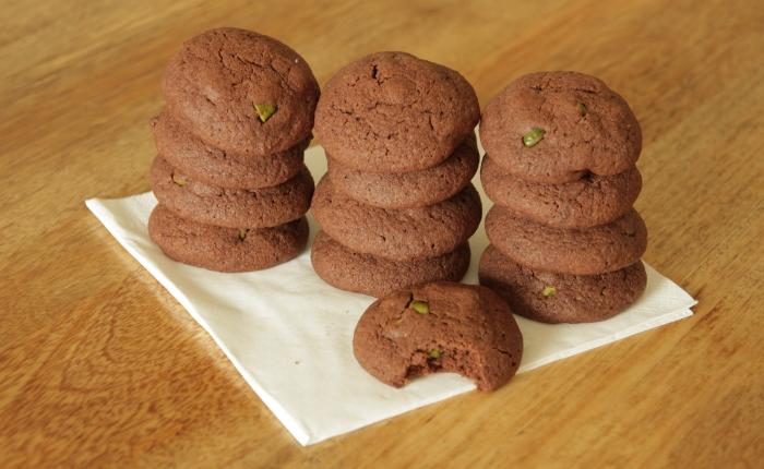 Chocolate & PistachioCookies