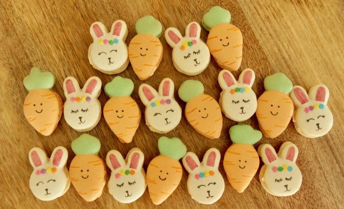 Easter Bunny & CarrotMacarons