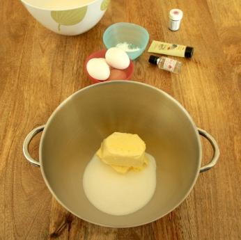 Vanilla butter sugar