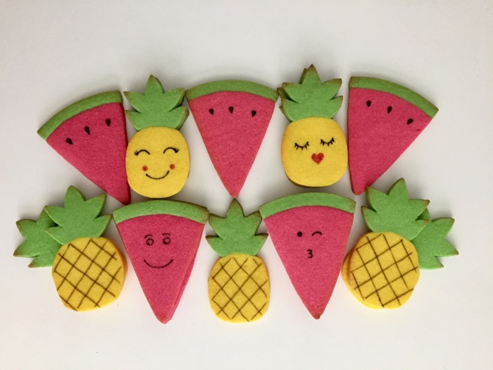 Fruit Salad Sugar Cookies