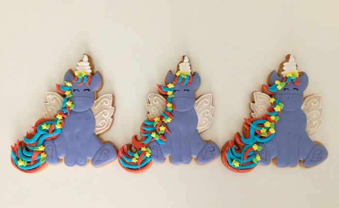 Unicorn Sugar Cookies