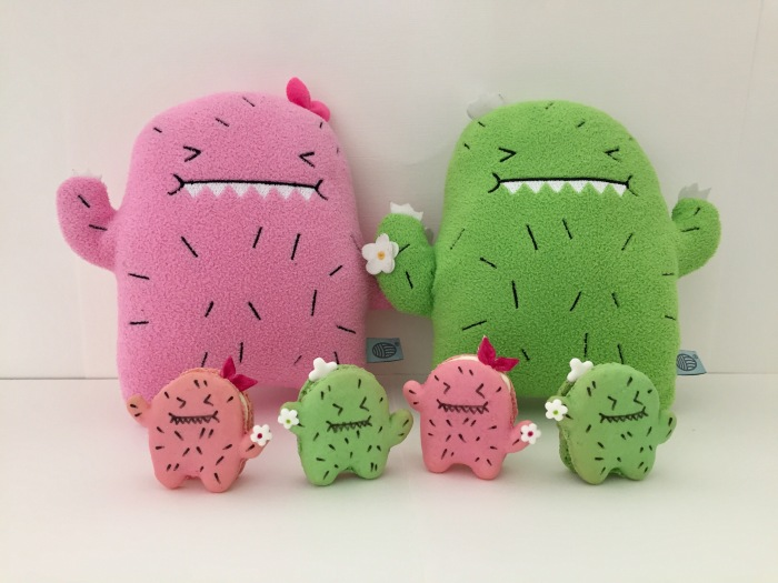 Kawaii Cactus Macarons Sprinkles In The Wild