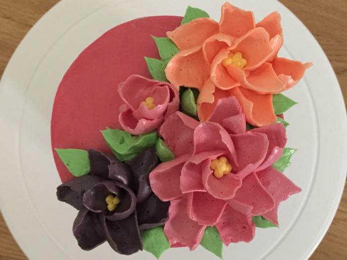 PB&J Chocolate Cake