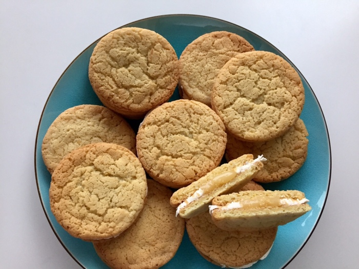 Lemon Cookie Sandwiches